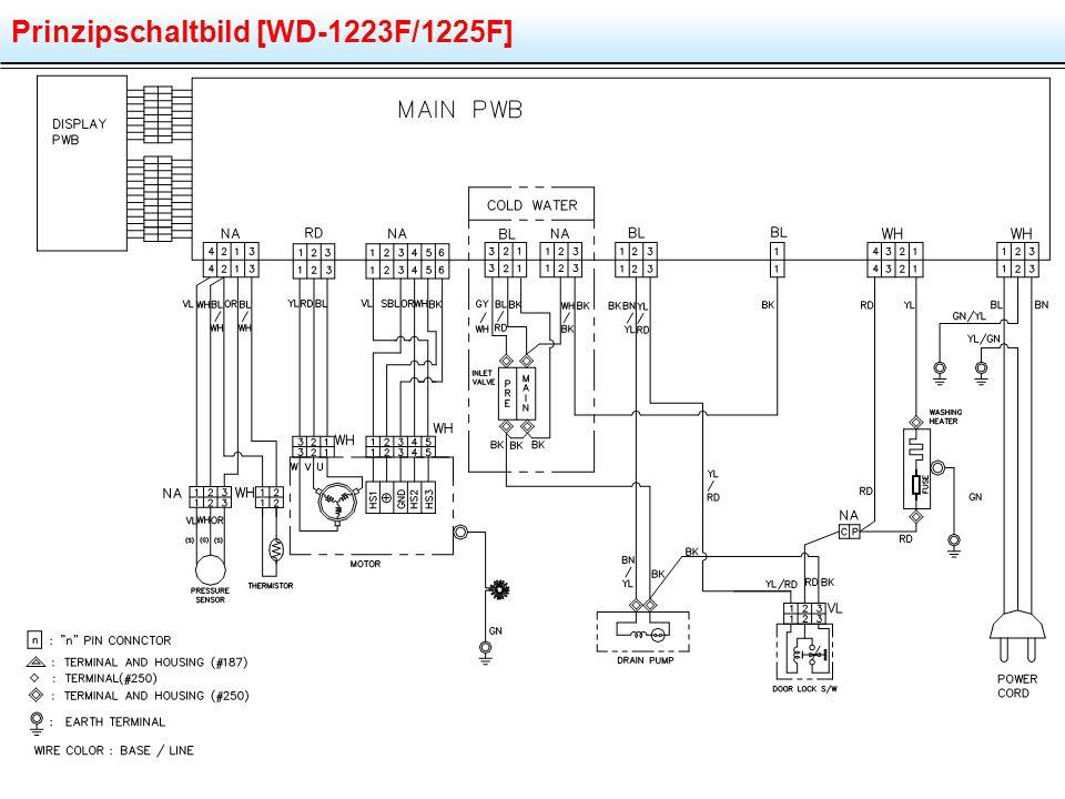 Prinzipschaltbild [WD-1223F/1225F]